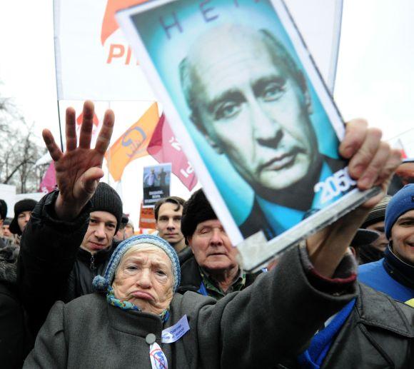 Rekordinis opozicijos mitingas Maskvoje