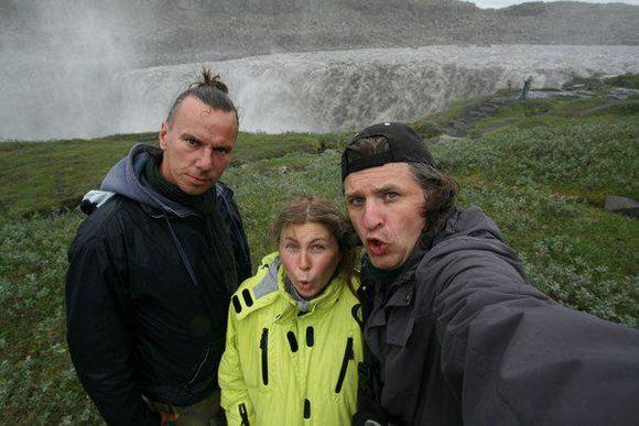 """Teatriuko"" archyvo nuotr./Teatriuko kelionės Islandijoje akimirka"