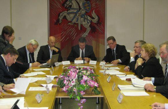 Klaipėdos regiono plėtros tarybos posėdis.