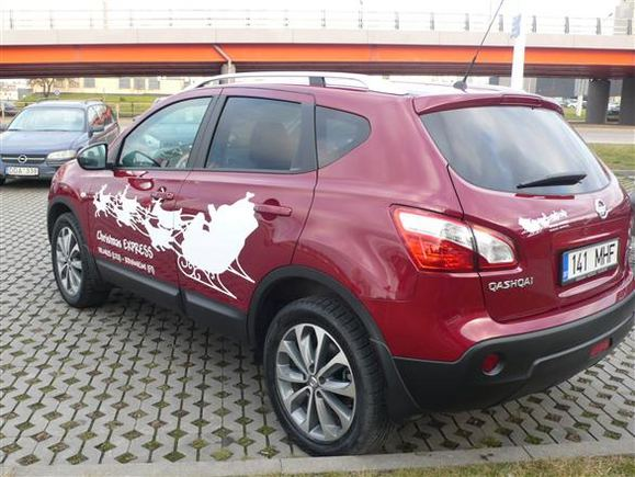 GAZAS.LT nuotr./Nissan Qashqai pasiruoaęs kelionei į Laplandiją