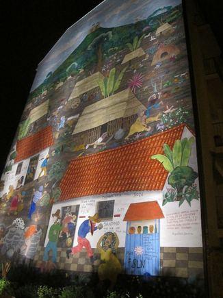 A.Savicko nuotr./Pieainys ant sienos Berlyne