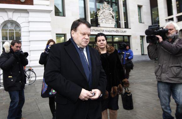 """""""Scanpix"""" nuotr./R.Baranauskas prie Londono teismo"""