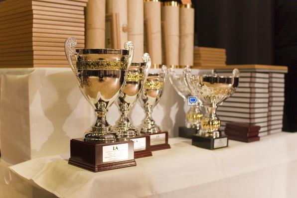 Pagerbti 2011 metų geriausieji studentai sportininkai.