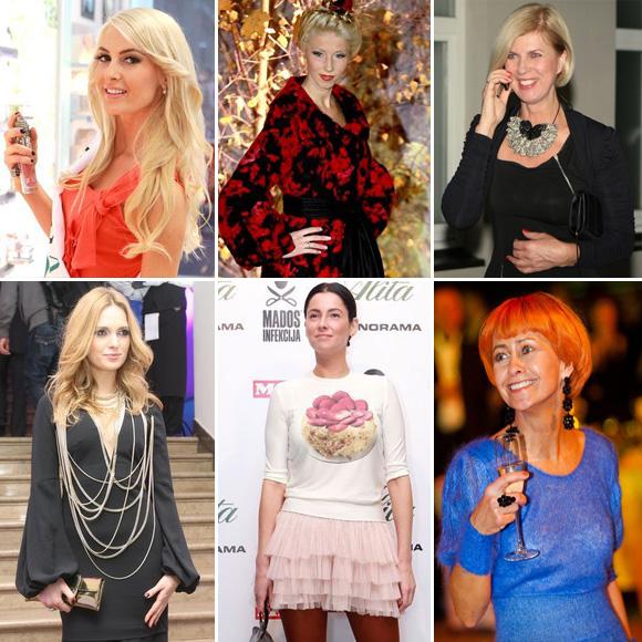2011 metų stilingiausios Lietuvos moterys