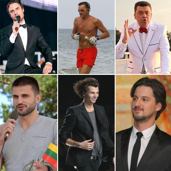 2011 metų žaviausi Lietuvos vyrai