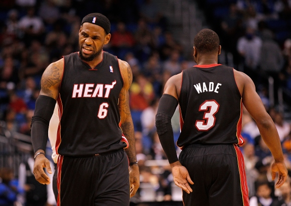 LeBronas Jamesas ir Dwyane'as Wade'as