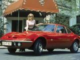 """Gamintojo nuotr./1968 m. """"Opel GT"""": """"Tik skrydis gali būti smagiau"""" (modelio reklaminis šūkis)"""