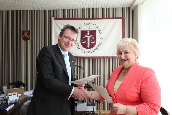 Uostamiestis neteko Socialinių mokslų kolegijos vadovės Nijolės Skučienės.
