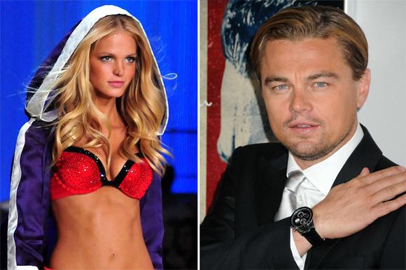 Erin Heatherton ir Leonardo DiCaprio