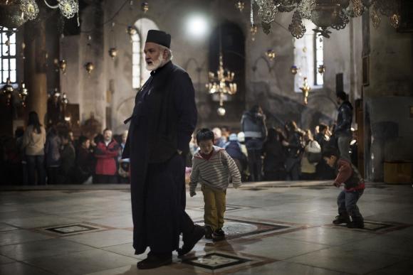 Betliejuje ruošiamasi švęsti Kalėdas