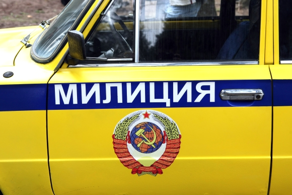 Sovietinės milicijos automobilis