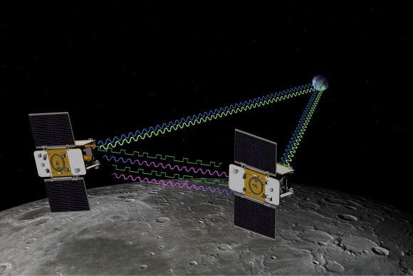 Scanpix nuotr./Planuojama, kad zondai aplink Mėnulį skries apie tris mėnesius per kuriuos tirs Mėnulio gravitacinį lauką