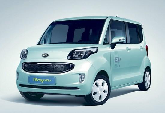 """""""KIA Ray EV"""" elektromobilis"""