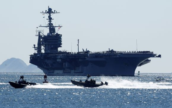 Reuters/Scanpix nuotr./Lėktuvneais John C. Stennis