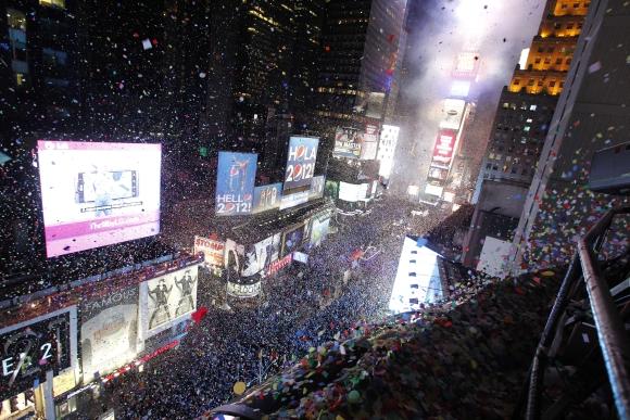 Naujųjų metų sutiktuvės Niujorke