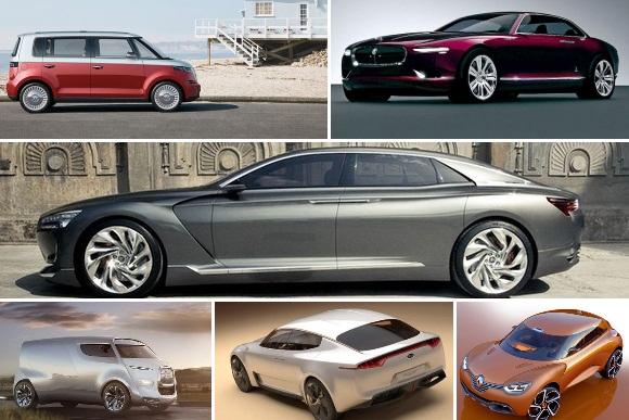 2011-ųjų koncepciniai modeliai