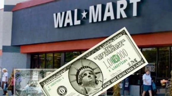 Amerikiečiui nepavyko įbrukti netikro milijono dolerių banknoto parduotuvės kasininkei.