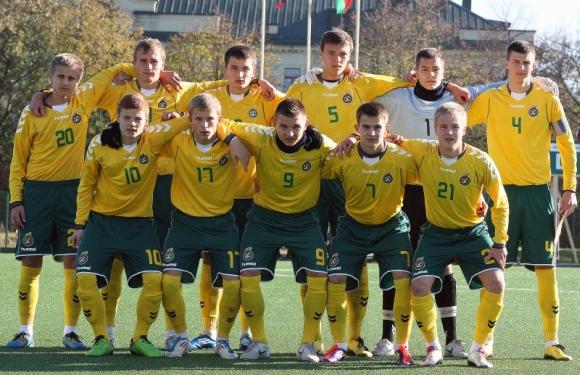 Lietuvos U-18 futbolo rinktinė