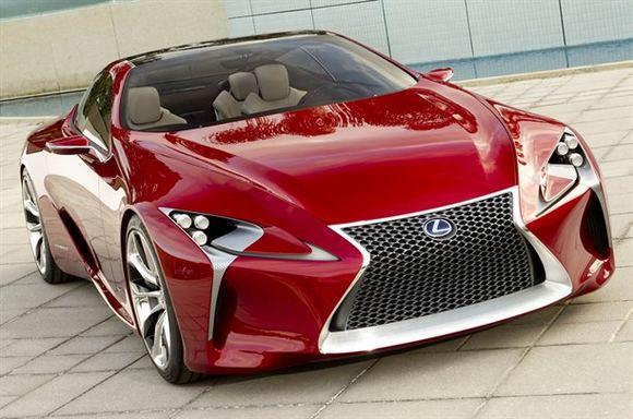Gamintojo nuotr./Lexus LF-LC konceptas