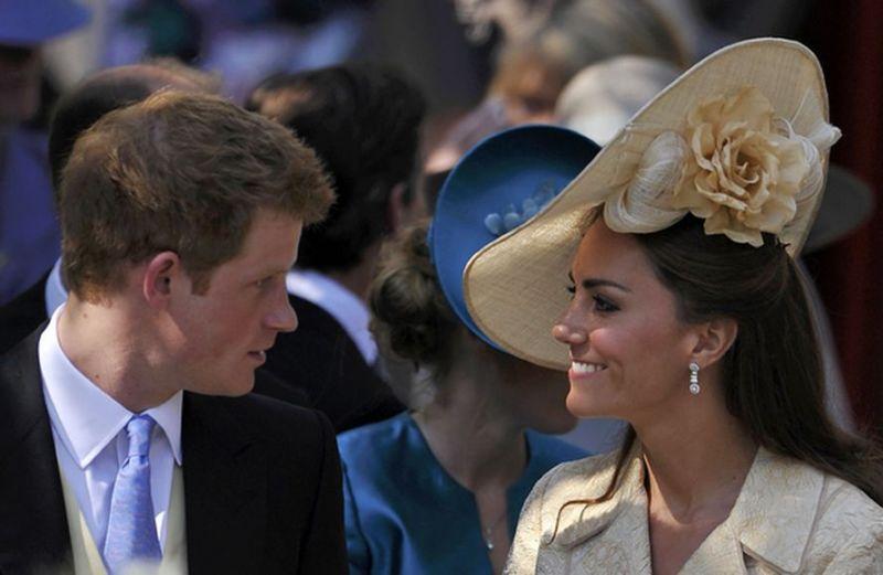 Princas Harry ir Kembridžo hercogienė Catherine