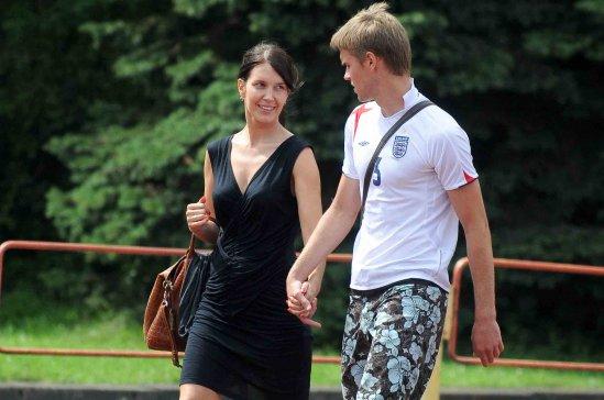 Vaidas Šilėnas su žmona Toma.