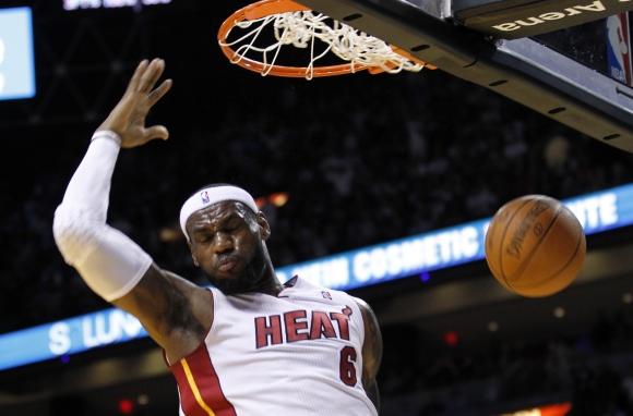 LeBronas Jamesas yra rezultatyviausias NBA lygos krepšininkas.