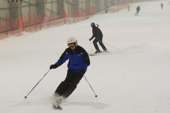Sniego arenoje Druskininkuose
