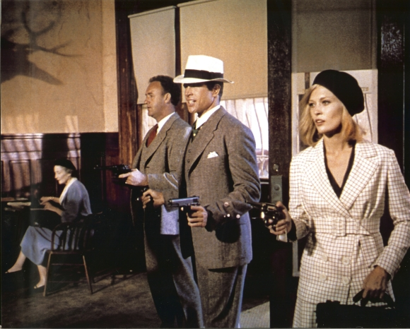 """Kadras iš kino filmo """"Bonnie ir Clyde'as"""""""