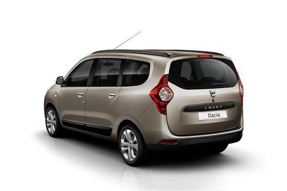 Gamintojo nuotr./Dacia Lodgy minivenas