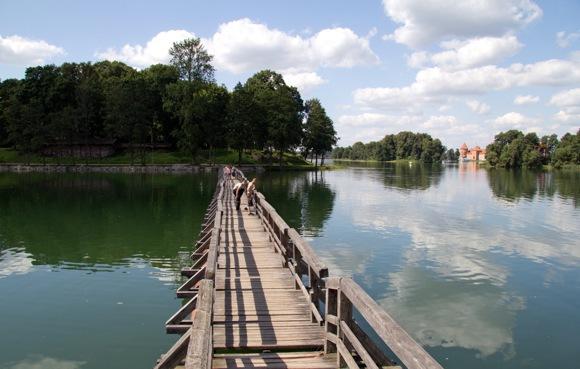 K.Stalnionytės nuotr./Tiltas per Galvės ežerą