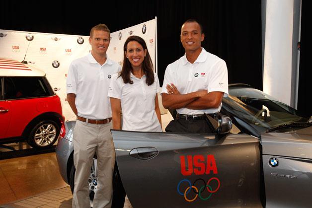 Londono Olimpinėms žaidynėms skirtas BMW