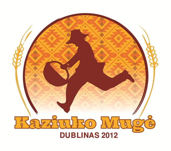 Kaziuko mugės Dubline logotipas