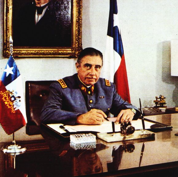 Buvęs Čilės lyderis Augusto Pinocheto