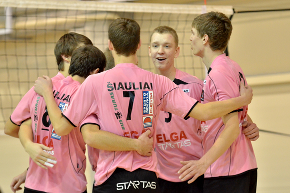 Lietuvos U-18 tinklinio rinktinės pagrindą sudaro šiauliečiai