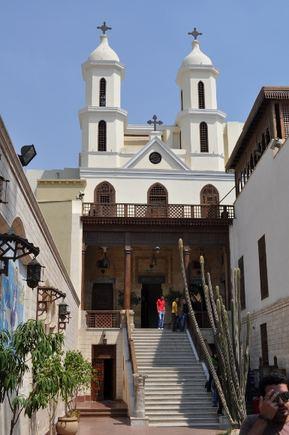 M.Vadišio nuotr./Krikščionių bažnyčia Senajame Kaire