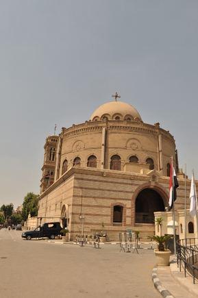 M.Vadišio nuotr./Koptų bažnyčia Senajame Kaire