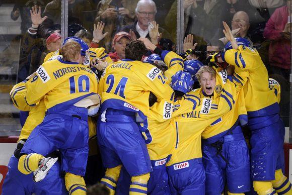 Švedų pergalės džiaugsmas