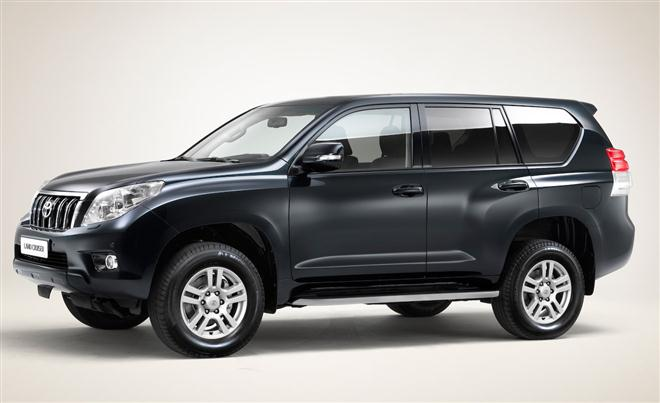 "5. ""Toyota Land Cruiser"""