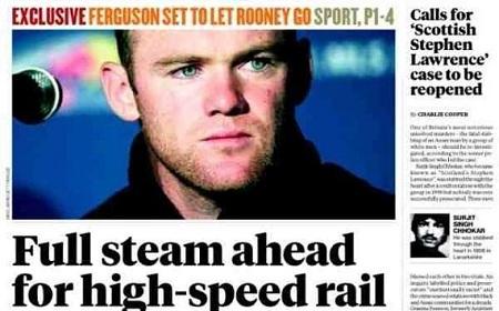 "Titulinis ""The Independent"" laikraščio puslapis"