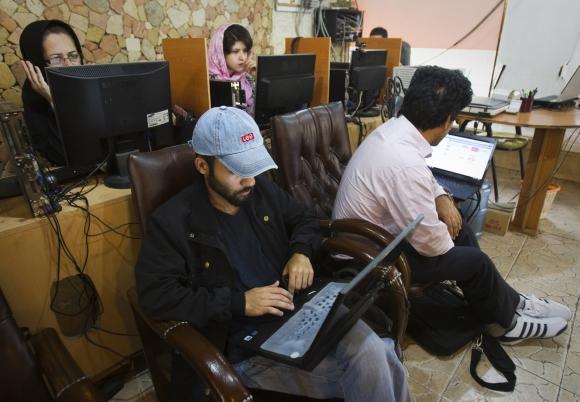 Interneto kavinė Teherane