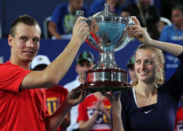 Tomašas Berdychas ir Petra Kvitova