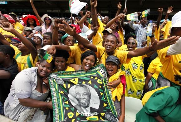 PAR švenčiamos šimtosios Afrikos nacionalinio kongreso įkūrimo metinės.