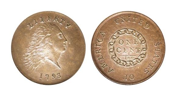 Pirmasis amerikietiškas centas