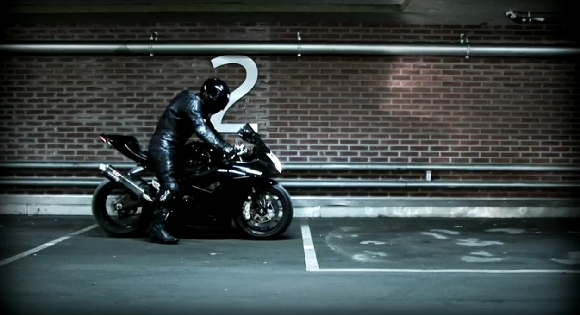 """Ghost Rider"" motociklininkas"