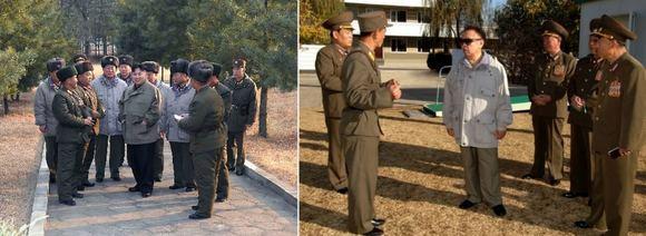 Scanpix nuotr./15min.lt montažas/KIm Jong Unas (kairėje) ir Kim Jon Ilas