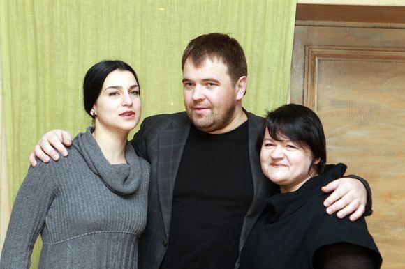 Irmanto Gelūno/15min.lt nuotr./Asmik Grigorian, Vaidas Vyaniauskas ir Dalia Ibelhauptaitė