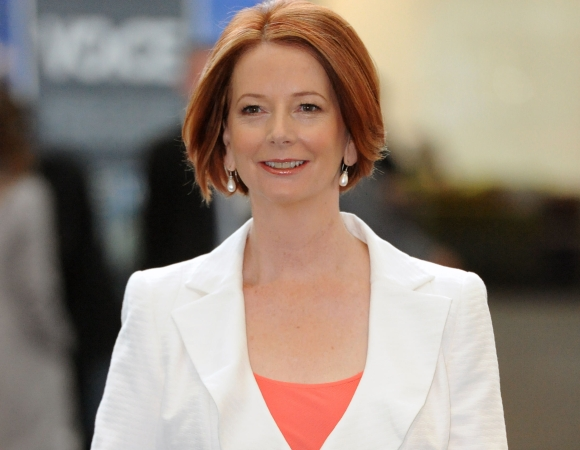Australijos premjerė Julia Gillard