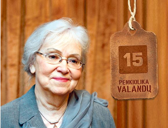 Poetė Ramutė Skučaitė mano, kad rašyti vaikams tikrai yra Dievo dovana.