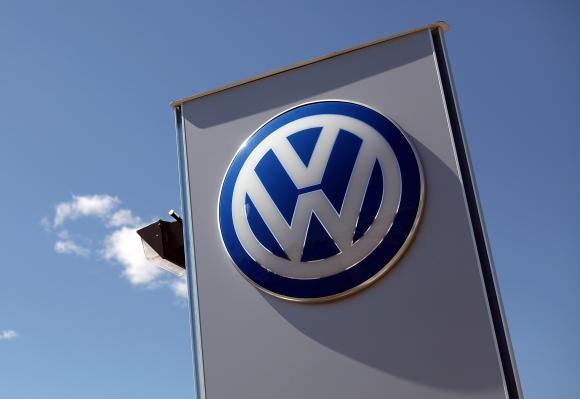 """""""Volkswagen"""" logotipas"""
