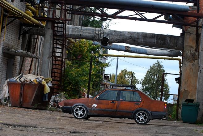 """""""Rat"""" stiliaus """"Volkswagen Jetta"""""""